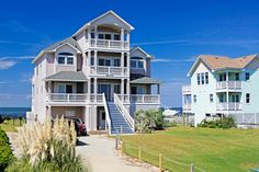 A perfect sound sound front rental home in buxton on for Hatteras cabins rentals