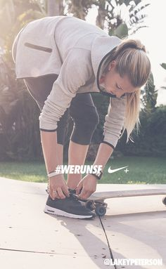 Skate the day in Nike Tech Pack. #werunsf