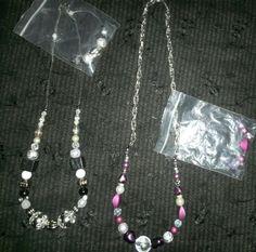 Mz.Succ3zz Unique Necklaces Sets $25.00ea
