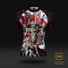 Koszulka rowerowa Husaria - krótki rękaw