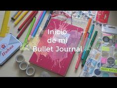 Inicio del Bullet Journal | Mi diario de papel - YouTube