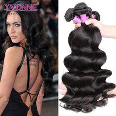 #Grade 5A 100% Brazilian Loose Wave Virgin Hair Weave 1B Color
