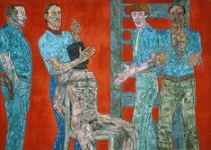 Interrogation I. Leon Golub. 1981