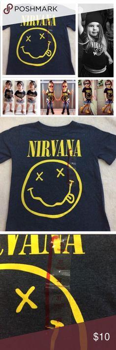 NWT Nirvana Tshirt Size 3T. New with tags. Shirts & Tops Tees - Short Sleeve