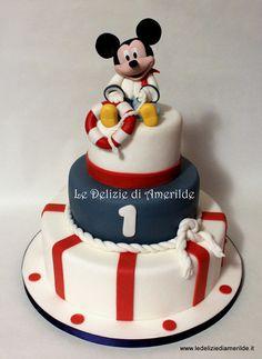 Sailor mickey mouse - by Amerilde @ CakesDecor.com - cake decorating website
