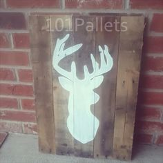 Deer Pallet Art