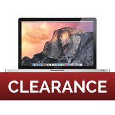 "CLEARANCE - Refurbished Apple MacBook Pro 15"" Core 2 Duo [2.66] [320GB] [4GB] MC026LL/A | MacBook Pros | Macs | JemJem"