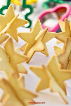 3D Star Cookies Tutorial and Recipe