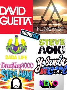 SAY DJ. THEN DANCE LIKE NOBODY'S WATCHING.   SAY DJ. THEN DANCE LIKE NOBODY'S WATCHING  Inspirations from the consolle. Here's a gallery of some of the world's most famous Djs' logos.  Find the differences…and the similarities (a lot). Who inspired who?  Enjoy and don't forget: one of these nights a Dj could save your life  :)