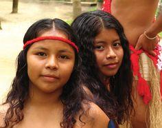 Indiaanse  kinderen- Suriname