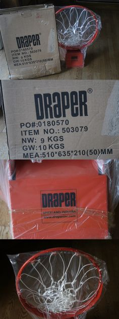 Rims and Nets 158962: Draper Breakaway Basketball Rim And Net 503079 New In Box -> BUY IT NOW ONLY: $89.99 on eBay!