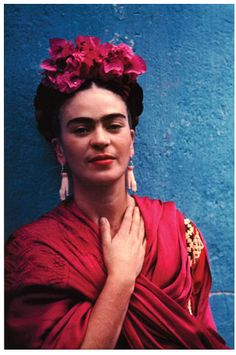 More flowers and Frida