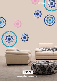 Creative flower wall designs,FDS-78