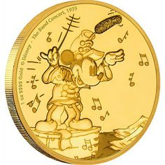 2016 1 oz Niue Mickey Mouse Band Concert Gold Coins from JM Bullion™