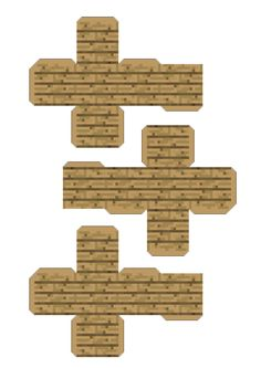 Easy Minecraft Houses, Minecraft Pixel Art, Minecraft Crafts, Minecraft Skins, Minecraft Buildings, Paper Toys, Paper Crafts, Christmas Perler Beads, Homemade Instruments