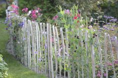 Tag Archives: lantligt staket Fenced Vegetable Garden, Potager Garden, Garden Fencing, Natural Fence, Flower Garden Design, Big Garden, Garden Cottage, Small Gardens, Permaculture