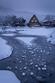 Shirakawa-go, Gifu, Japan