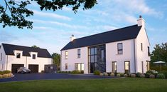Property For Sale in Lisburn Bungalow House Design, Modern House Design, House Designs Ireland, Sutton House, Octagon House, My House Plans, Farmhouse Renovation, Dream House Exterior, Architect House