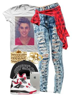 """""""Untitled #1040"""" by power-beauty ❤ liked on Polyvore featuring Justin Bieber, Juicy Couture and NIKE"""