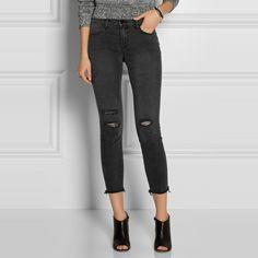 Rank & Style |  Top Ten Black Distressed Jeans #rankandstyle #distressed #jeans  http://www.rankandstyle.com/top-10-list/best-black-distressed-jeans/