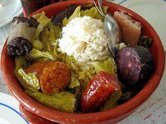 Portuguese sausage stew  #Marvao #Alentejo #Portugal
