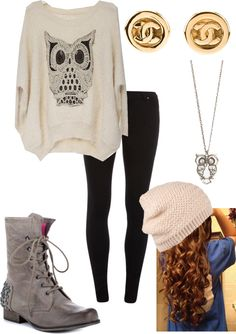 """cold day"" by kerri-ann-birch ❤ liked on Polyvore"
