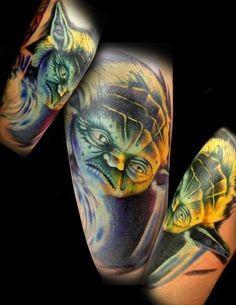 Jon Leathers - Electric Chair Tattoo - Flint, MI
