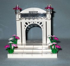 NEW-CUSTOM-LEGO-WEDDING-ARCH-STAIRS-CAKE-TOPPER-FOR-BRIDE-AND-GROOM-MINIFIGS