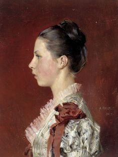 The Athenaeum - Annie Edelfelt. The Painter's Youngest Siste (Albert Edelfelt - )