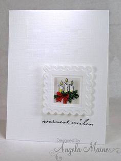 TLC408 & CAS201 Candles by Arizona Maine - Cards and Paper Crafts at Splitcoaststampers