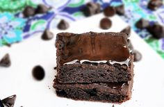 Brownies by Chocolate-covered Katie