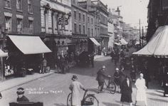 On the corner of High Street and the Market Place 1920