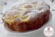 Torta Nua soffice con crema pasticcera, vaniglia, zucchero, uova, crema, facile, veloce, merenda colazione, forno, ricetta, soffice, leggera, dolce, golosa