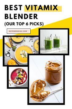 Which Vitamix Do I Buy? Best Vitamix Blender, Blender Recipes, Plant Based Diet, Plant Based Recipes, Whole Food Recipes, Vegan Recipes, Jelly Recipes, Best Masticating Juicer, Wheatgrass Juicer