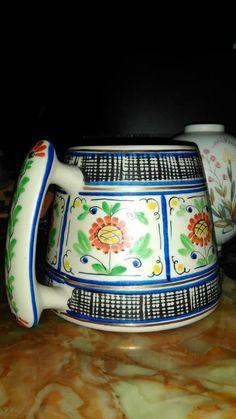 Aksini Danmark. Ölkrus daterat O.B. 1963 på Tradera.com - Övrigt Second Hand, Porcelain, Mugs, Tableware, Porcelain Ceramics, Dinnerware, Tumblers, Tablewares, Mug