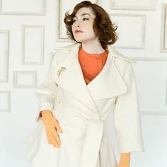 Lady Grey Coat from Colette Patterns, I really want to make this someday