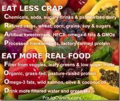#eat more real #food!