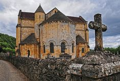 Medieval French Church  By Dave Mills