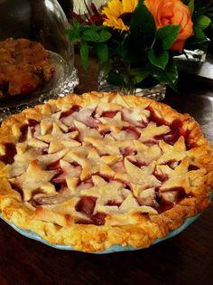 Cherry Pie In Star Crust