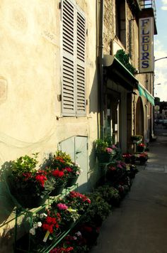 French florist in Beaune, France #flowers #floral #fleurs