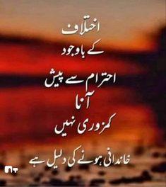 Urdu Quotes, Qoutes, Arabic Calligraphy, Quotations, Quotes, Arabic Calligraphy Art, Quote, Shut Up Quotes