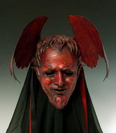 "hajandradeye: ""Cyndy Salisbury, The Art of the Mask on Etsy"""