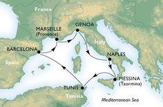 Ciudades de Arte y Maravillas Un crucero imprescindible por el Mediterráneo Descubre la oferta!