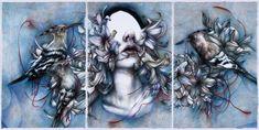 Marco Mazzoni - Self Esteem #marcomazzoni #coloredpencils #jonathanlevinegallery