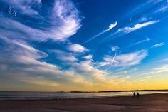 """Illuminated Love"" at Goose Rocks Beach"