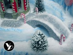 Custom Village Display Platform | Etsy Diy Christmas Village Platform, Christmas Village Display, Christmas Town, Christmas Villages, Christmas Crafts, Christmas Decorations, Xmas, Foam Factory, Ski Hill
