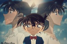 Detective conan...lol to me this is funny because if you haven't seen the show, he looks like their love child XD. It looks like they died