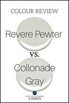 Colour Review Collonade Gray Vs Revere Pewter