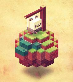 Panda Swing // Game art