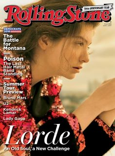 Lorde on the June 1, 2017 cover.